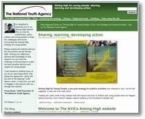 Aiming High Website