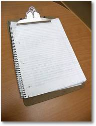Image: 'clipboard' - www.flickr.com/photos/60364452@N00/264890460