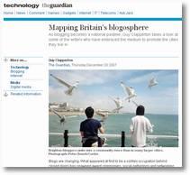 Screenshot from Guardian website