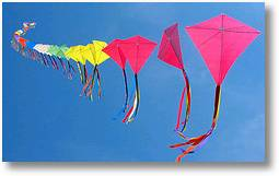 70 kites on a single line3 - (Creative Commons)
