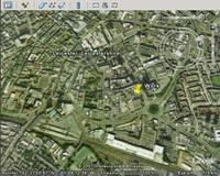 Leicester in Google Earth