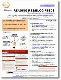 Reading blogs and rss feeds with Netvibes