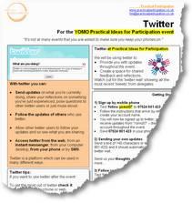Twitter briefing