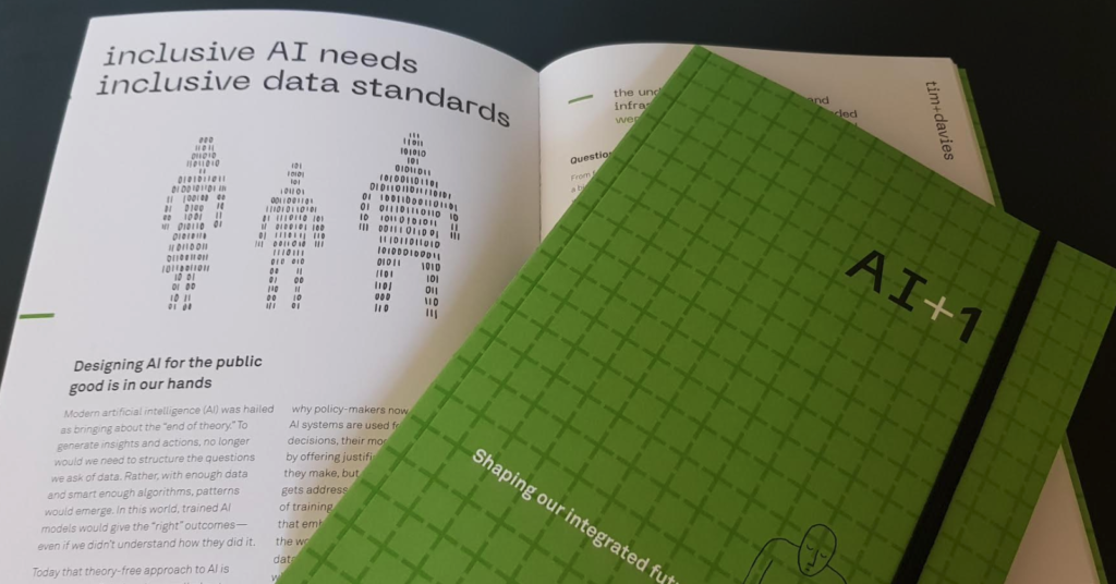 Copy of the AI+1 Publication, open at this chapter